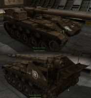M41 GDI Medium Artillery by Arsaneus
