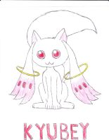 Kyubey by anolelightdragon
