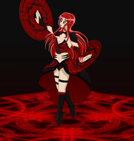 Contest Prize 3: Red Magic by Aijihi