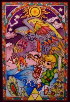 Link and the Helmaroc King by GwendolynWolters