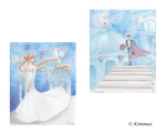 For Megan: Princess Serenity and Her Prince by XKimmaiX