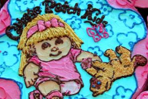 Cabbage Patch Cake - Detail by JenLipski