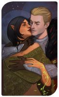 Shiera and Cullen by DemonLife