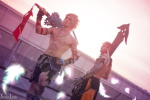 Zanarkand Essence - Tidus and Jecht Cosplay BestHQ by LeonChiroCosplayArt