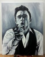 Johnny Cash by MikkeSWE