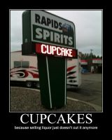 cupcakes demotivational by yom125