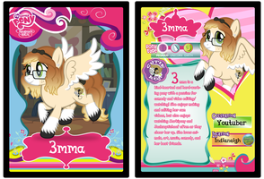 MLPFiM Trading Card 3mma by Origamigirl1223