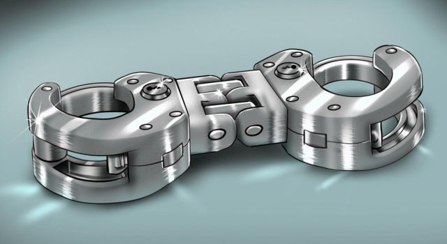 Heavy duty hinged cuffs (With colour variants) by Plasma-dragon