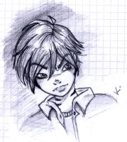 the oldest drawing of all. Kei by katarzyna-z