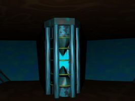 Tardis consol power core by TheTimeLordMarshal
