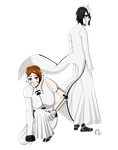 Ulquiorra and Shira by MagicCrazyMagician