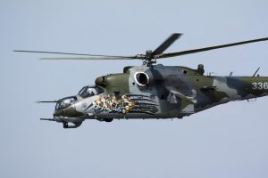 Mil Mi-24 Hind Tiger Meet 2 by Rikkubeauty