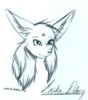 .:Erika the Espeon:. by MattTheUmbreon