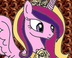 Sai Princess Cadence II by DarkMagicianCatGirl