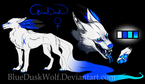 Blues ref Sheet OUTDATED by BlueDuskWolf
