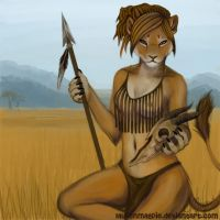 Lioness by LaurenMagpie