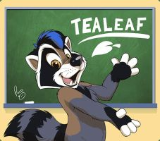Furnal Equinox badge: Tealeaf by pandapaco