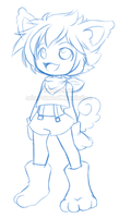 Com: Sketch Moises by Natsumi-chan0wolf