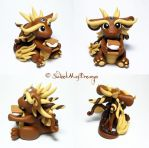 S'mores Loving Dragon by SweetMayDreams