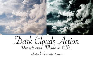 Dark Clouds Action by sd-stock