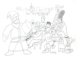 White Christmas Blues by komi114