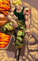 Guile 2011 reborn by Patylegs