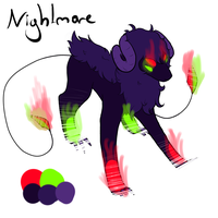 RARE, god of darkness and night by AdoptableTogether