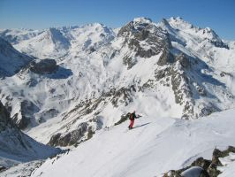 Montagne_Serre_Chevalier by Simonmarky