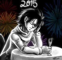 New Year 2015 by digitallyfanged