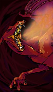 Agony The Charizard by Wolveslair