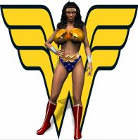 "Wonder Woman ""Topless"" by Chup-at-Cabra"