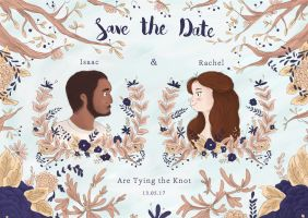 Save the Date commission by hannahv92