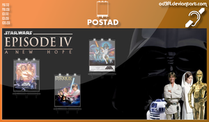 PostAd - 1977 - Star Wars Episode 4 A New Hope by od3f1