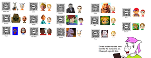 Mii code collection by LukeTheeMewtwo