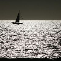 sailing silver seas by m-lucia