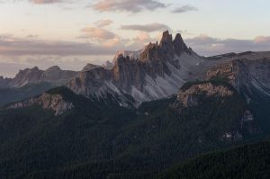 Cinque Torri - morning by ivancoric