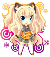 SeeU Chibi by Love-The-Nekos