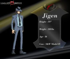 Deadliest Warrior Jigen by SmokeyandtheBandit