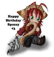 Happy Birthday Spazzy by Lilwolfpard