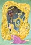 Disney Flowers- Rapunzel by spicysteweddemon