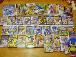 My Sonic Collection by Sonicguru