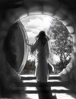 Jesus: I Am the Resurrection by OtakuEC