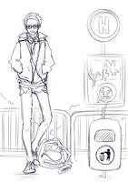 WIP - Louis Casual Version by BeesHoneypot
