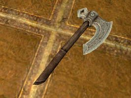 Iron axe by isaac77598