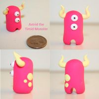 Astrid the Timid Monster by TimidMonsters