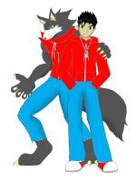 Edward+wolf colored by Reagan700