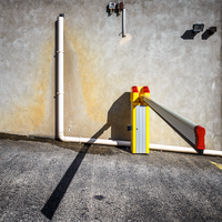 Parking Clown by Pierre-Lagarde