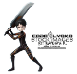 William Code Lyoko Evolution Attack Pose PNG by BelievingIsSeeing