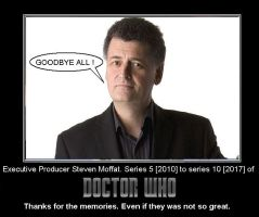 Doctor Who - Steven Moffat has quit by DoctorWhoOne