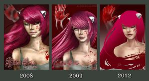 : evolution : by Lala-Mot